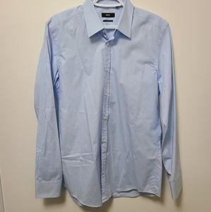 Light Blue Hugo Boss Dress Shirt